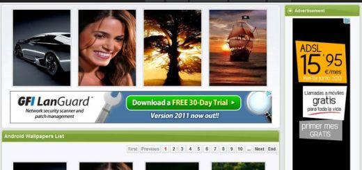 Androidsoft4u, miles de wallpapers gratis para tu smartphone Android