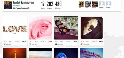 Copygram, un excelente cliente web para tu cuenta de Instagram con opción de backup