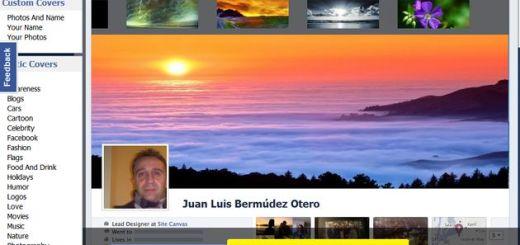 CoverCanvas, diseña tus portadas para Facebook