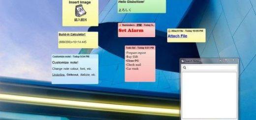 GloboNote, aplicación multiplataforma y libre para poner post-it en el Escritorio