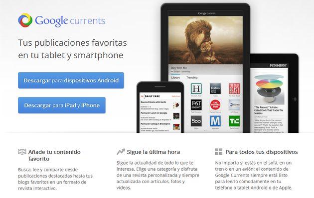 Google Currents ya está disponible para España y Latinoamérica