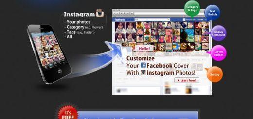 InstaCover, crea un collage con las fotos de Instagram para usar de portada de Facebook