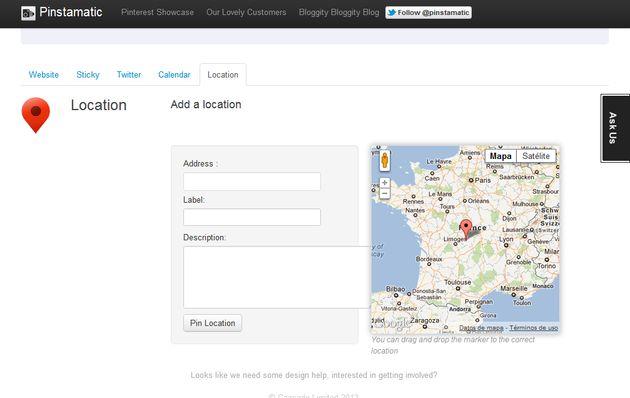 Pinstamatic: publica sitios web, notas post-it, fechas, ubicaciones o tweets en Pinterest
