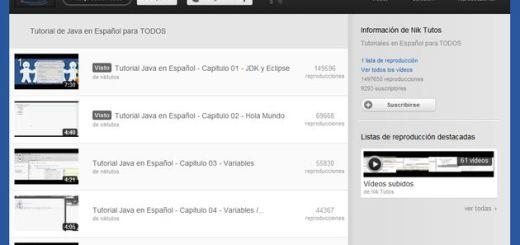 Videotutorial gratuito, y en español, de programación en Java