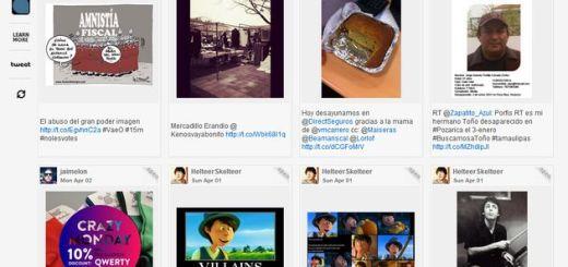 Twimfeed, dale a tu Twitter la apariencia de Pinterest