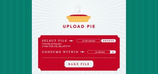 Upload Pie: comparte rápidamente imágenes, textos o documentos PDF