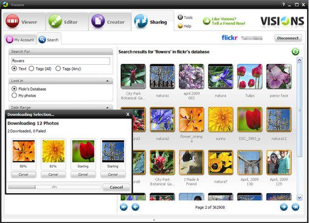 Visions, visor en 3D y editor gratuito para tus imágenes