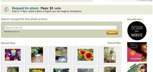 morgueFile, cientos de miles de fotografías libres para usar en tus proyectos