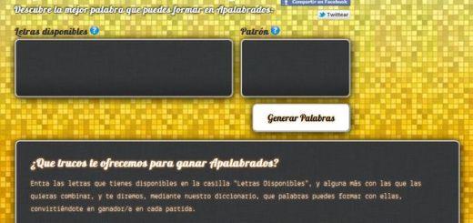 Apalabrados.org, las palabras que necesitas al jugar a Apalabrados