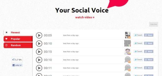 Audiolip, plataforma online para grabar audio y compartirlo en Twitter y Facebook