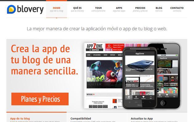 Blovery, crea fácilmente la app de tu blog para Android e iOS sin programar