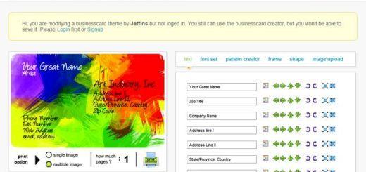CARDXC, herramienta web para crear gratis tus tarjetas de visita o contacto