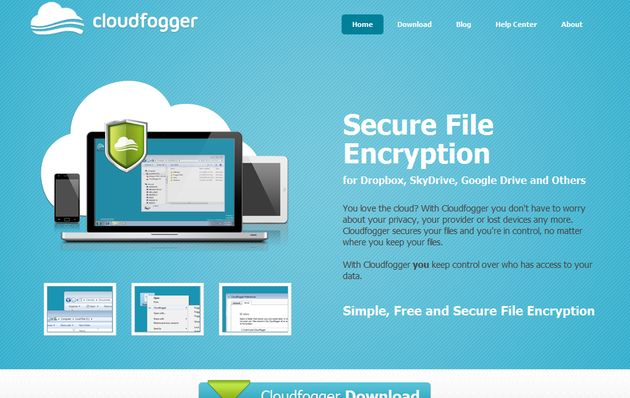 Cloudfogger, aplicación gratuita para cifrar los archivos antes de guardarlos en la nube