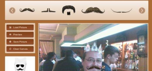 Facetache, pon 'bigotes' a tus fotos y compártelas en Facebook