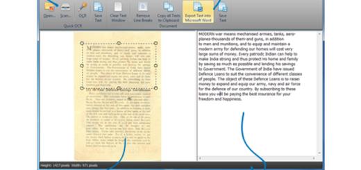 Free OCR to Word: software gratis para convertir documentos e imágenes a texto