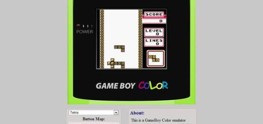 JS GameBoy Color Game Center: un emulador para GameBoy Color en tu navegador, sin instalaciones