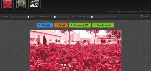 Mothereffing Animated Gif, webapp gratuita en HTML5 para crear animaciones gif con arrastrar y soltar