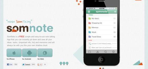 SomNote, crea o gestiona anotaciones con archivos adjuntos y compártelas fácilmente