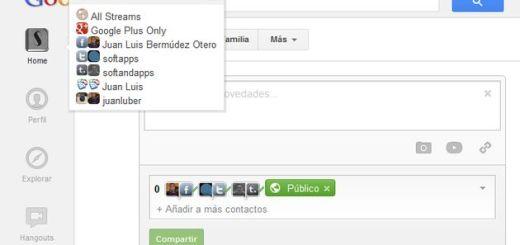 Streamified, convierte Google+ en un cliente para tus otras redes sociales (Chrome)