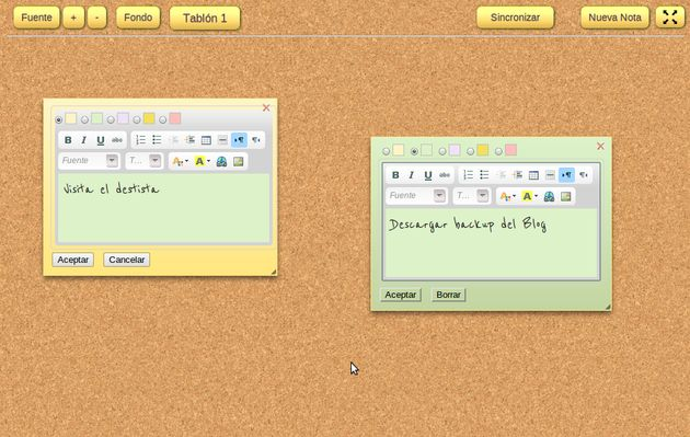 Notes Board: crea notas, apunta datos y tareas pendientes en Chrome