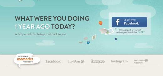 Timehop, servicio para recordar que publicabas en las redes sociales un año atrás
