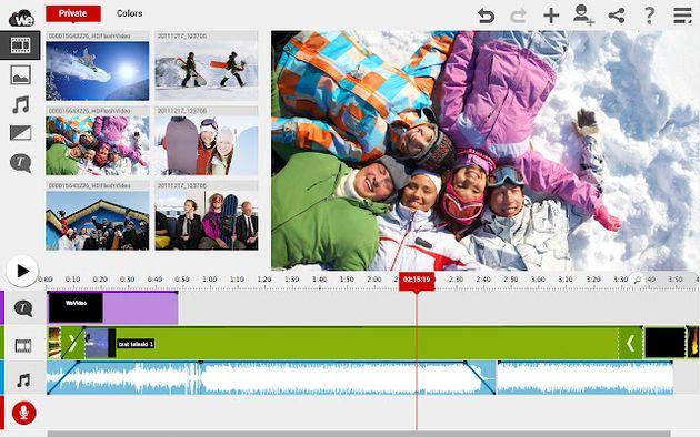 WeVideo for Google Drive, crea vídeos en tu navegador Chrome y guárdalos en Google Drive
