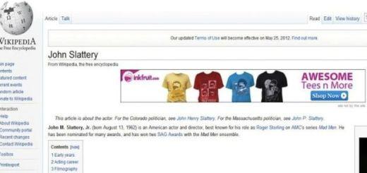 Ver publicidad en Wikipedia es un síntoma de infección en tu equipo