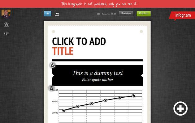 Infogr.am, aplicación web gratuita para crear infografías de forma visual