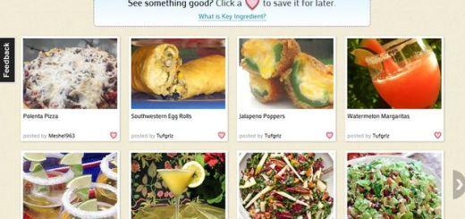 key Ingredient, un Pinterest para las recetas de cocina