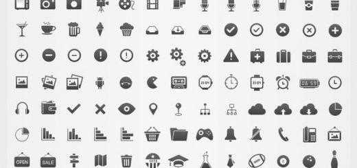 Un set con 350 iconos variados y gratuitos