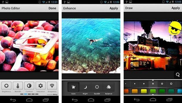 Aviary, la suite para editar imágenes online ahora también en Android e iOS