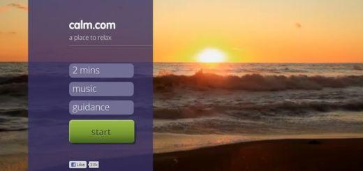 Calm, un sitio web para matar el estrés