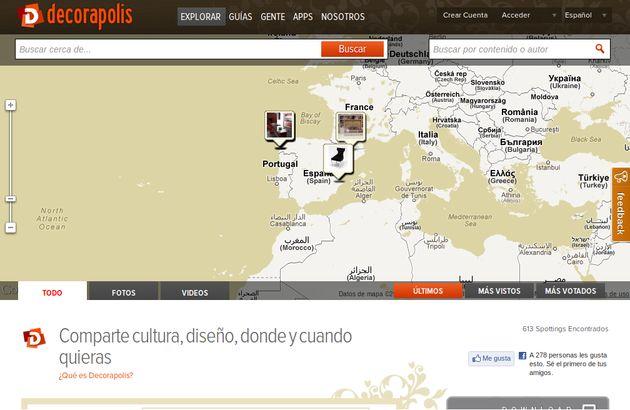 Decorapolis, red social en español para los amantes de la decoración y el diseño