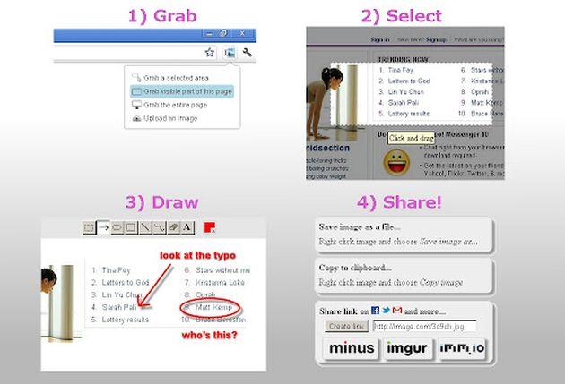 Explica y Envía Capturas de Pantalla: toma, edita y comparte capturas de pantalla (Chrome)