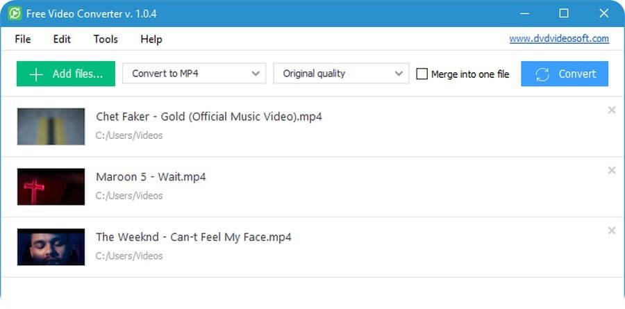 Free Video Converter: software para convertir entre formatos de vídeo