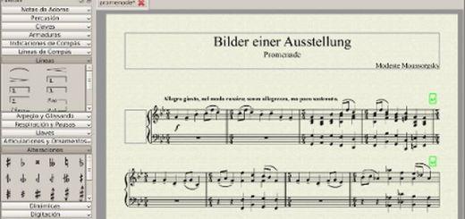 MuseScore, software libre y multiplataforma para notación musical