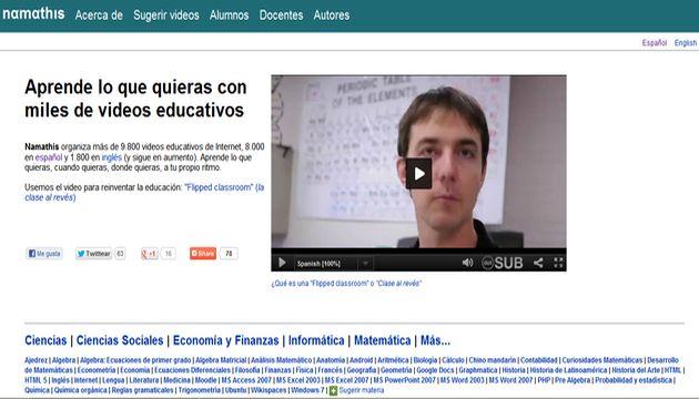 Namathis, un directorio con 8000 vídeos didácticos en español