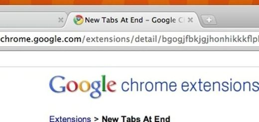 New Tabs At End