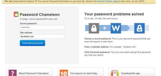 Password Chameleon, una solución para disponer de una clave única en tus servicios