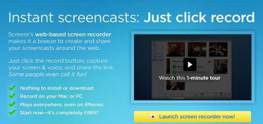 Screenr, captura un vídeo de tu Escritorio con esta herramienta web gratuita