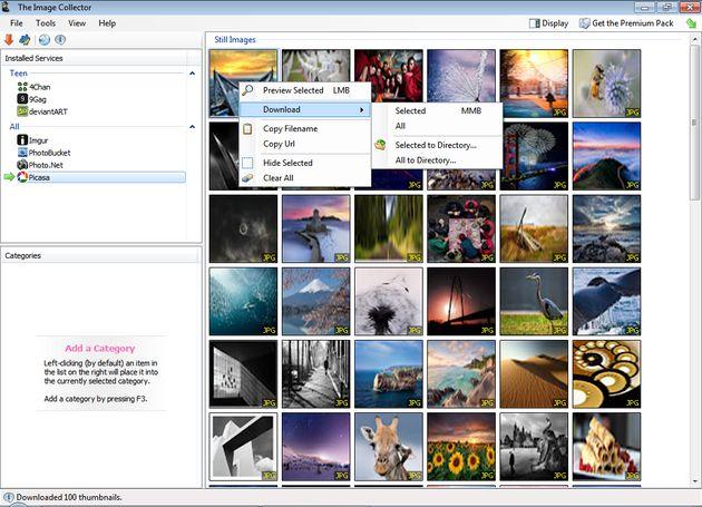 TIC, software gratuito para visualizar y descargar imágenes de servicios de alojamiento online