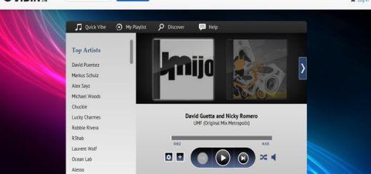 Vibin, escucha online música electrónica y crea playlists o tu radio personalizada