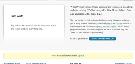 Lanzado WordPress 3.4.1 para corregir 18 errores de la versión 3.4