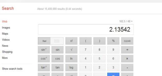 Los cálculos matemáticos de Google ya ofrecen una potente calculadora virtual
