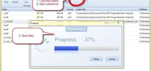 Free PDF Image Extractor, la forma más rápida de extraer imágenes de un PDF o varios