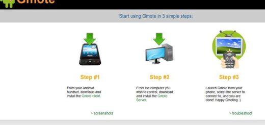 Gmote, convierte a tu Android en el mando a distancia del ordenador