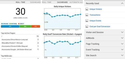 Ya hay app oficial de Google Analytics para Android
