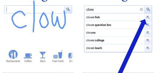Ya podemos buscar en Google escribiendo con el dedo en la pantalla de nuestro smartphone