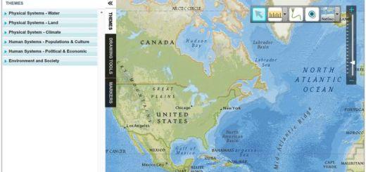 MapMaker, crea mapas didácticos con esta herramienta online de National Geographic