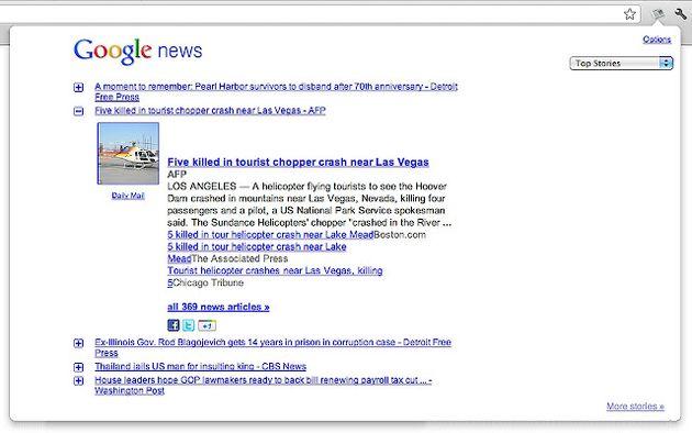 News Reader, todas las noticias que te interesan en una extensión para Chrome